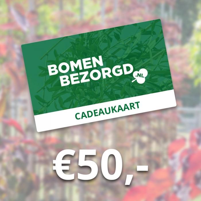 Cadeaukaart €50,-