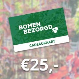 Cadeaukaart €25,-